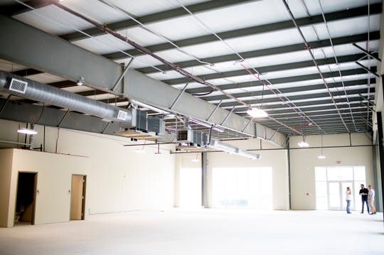 An interior view of the future Orange Hat Brewing Company at 10258 Hardin Valley Road in Hardin Valley, Tennessee on Tuesday, August 6, 2019. The brewery expects to open by December 2019.