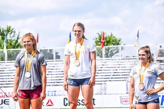 Chloe Smith, Iota teen, won The World's Fittest Teen title for the second time at 2019 CrossFit Games. She won her first games in 2017 at 14 years old and placed 3rd last year.
