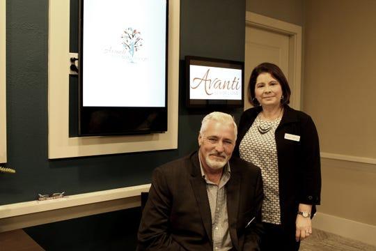 Brazette Carlos and John Valdetero, who work for Avanti Senior Living, are both members of the Lafayette Women's Chamber of Commerce.