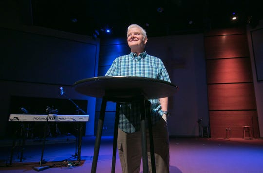 The Naz Church Pastor Ben Walls, shown Tuesday, Aug. 6, 2019, will retire from the Brighton church after 31 years.