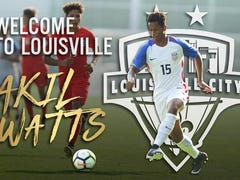 Louisville City FC announces the signing of defender Akil Watts