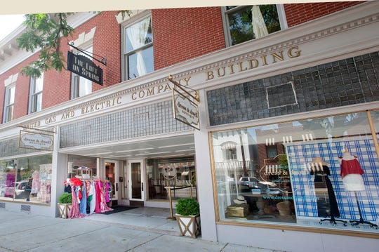 Dress & Dwell is a clothing and home items shop in the former United Gas and Electric Company Building at 138 E. Spring St. in New Albany. Aug. 6, 2019