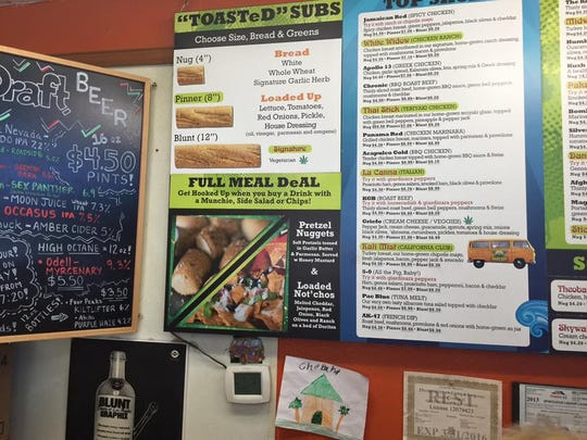 Cheba Hut has menu items that refer to marijuana. The sandwich shop franchise started in Tempe, Arizona in 1998 and wants to open two restaurants in East Lansing near MSU.
