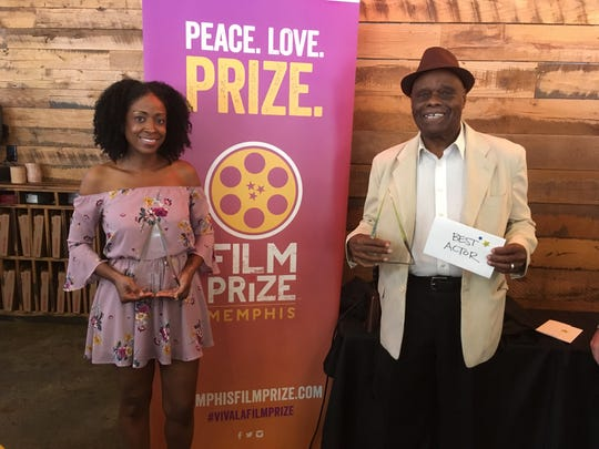 Latresia D. Bobo and Percy Bradley won the acting awards at the 2019 Memphis Film Prize competition.