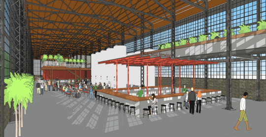 Chicago-based Baum Revision Group is proposing to rehabilitate a 40,000-square-foot building at 6771 W. National Ave. in West Allis and create a 10,000-square-foot event space and perhaps an accompanying brewery or café.