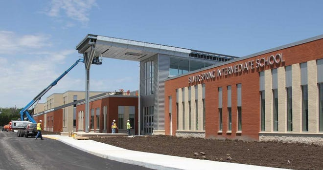 The new Silver Spring Intermediate School will have a dedication ceremony Aug. 26.