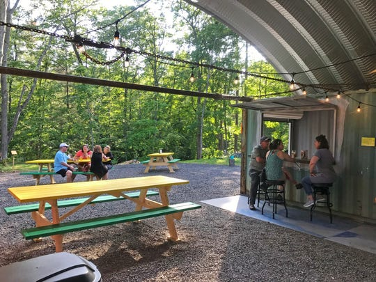 Delta Diner, a popular 1940s Silk City diner in the middle of the Chequamegon-Nicolet National Forest, in 2019 opened the Tin Tap House & Chicken Shack, serving Jamaican jerk chicken and craft beer out of refurbished shipping containers next to the diner.