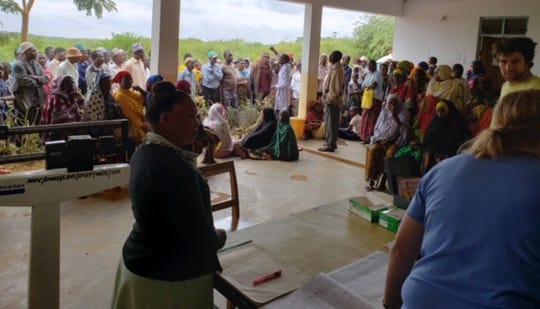 A large amount of people visited four clinics in Tanzania during a mission trip for medical services. Medical professionals from Wisconsin were a part of the trip in July.