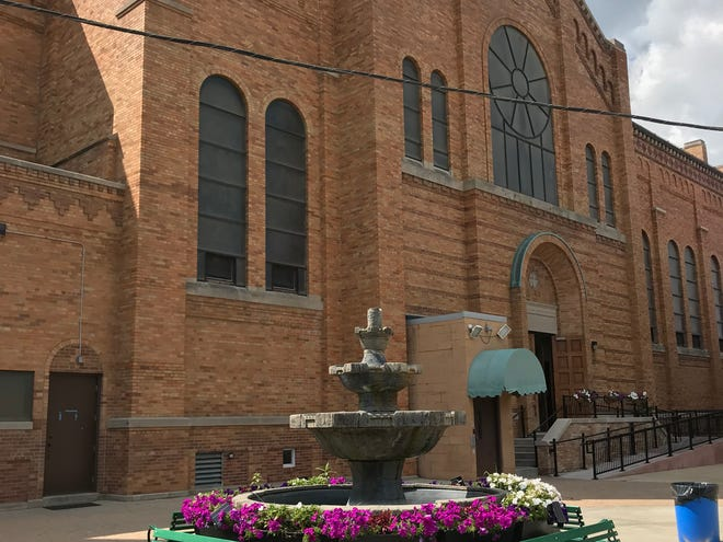 The plaza between St. Adalbert Church and its school in the 1900 block of West Becher Street will be the scene of Chef Latinos Wisconsin's first dinner open to the public. It's a fundraiser for St. Adalbert's.