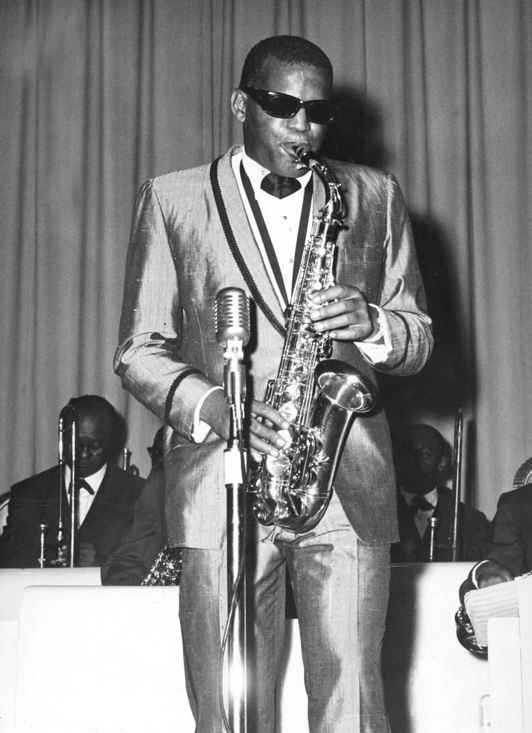"""Soul legend Ray Charles releases """"Modern Sounds in Country and Western Music"""" in 1962. Charles performs at Convention Hall in Asbury Park Aug. 31, 1962."""