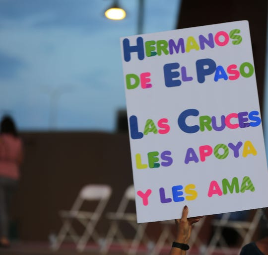 En Las Cruces, Nuevo México, honraron la memoria de las víctimas.