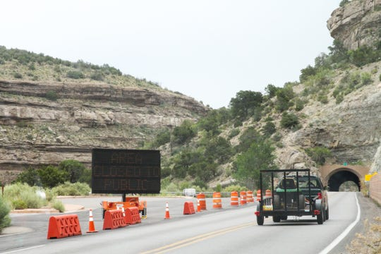 U.S. Highway 82 will be closed Wednesday, Aug. 14, 2019 so debris from a car accident during summer can be cleared.