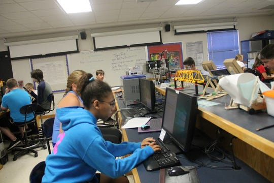 Alamogordo High School hosted it's second Air Force Association CyberCampJuly 29to Aug.2 where campers learned about cybersecurity