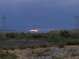 The Verde Fire was burning north of Fountain Hills, It had grown to about 2,000 acres as of late Monday.