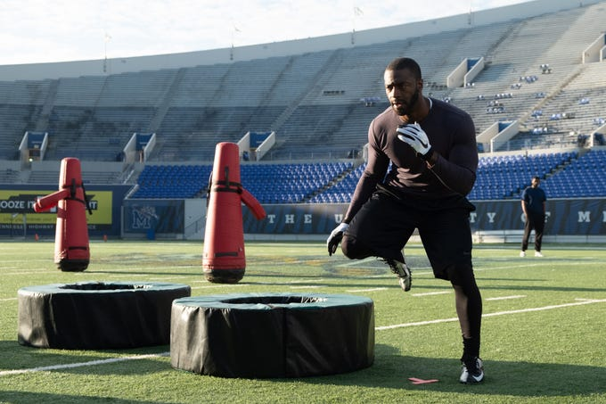"""In """"Brian Banks,"""" Aldis Hodge plays the title character, a football player who is wrongly convicted of a crime."""