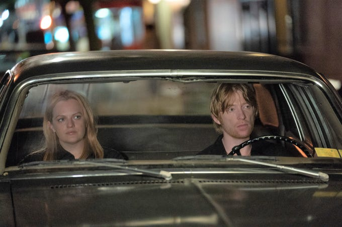 """Elisabeth Moss and Domhnall Gleeson star in """"The Kitchen."""""""