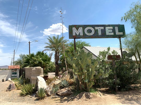 The Westward Motel in Salome, which Wolters has operated for 14 years.