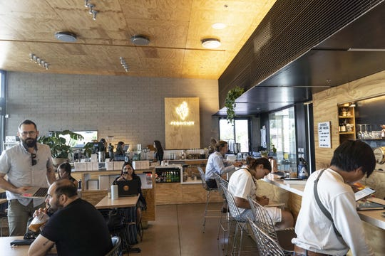Provision coffee bar, located at 4501 N. 32nd St., has thrived amid big chain competition.