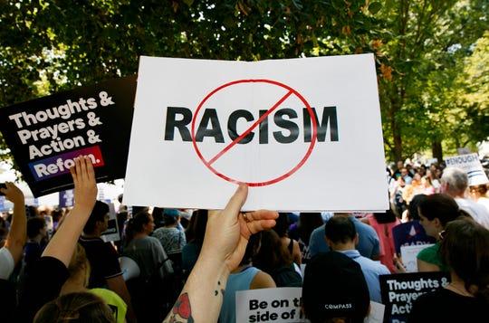 Protesta anti racismo.
