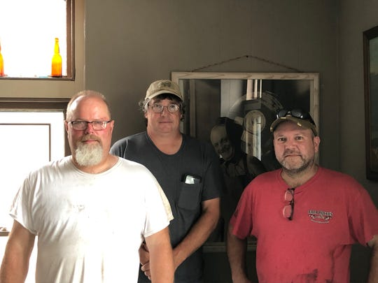 From left to right, Dave Koch, Kevin Booth and Mike Osborne make up three of the four partners behind Lebanon Valley Craft Brewery, coming in 2020.