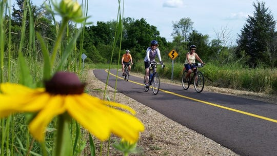 A 250-mile trail network between South Haven and Port Huron is having its inaugural ride in September.