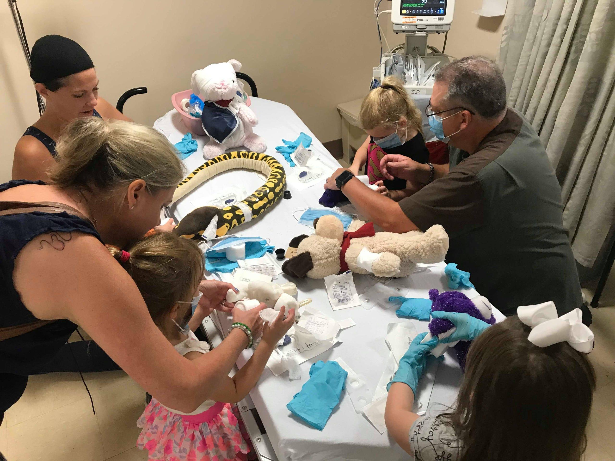 MidHudson Regional Hospital hosts teddy bear clinic