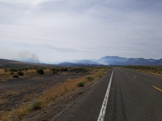 The Corta Fire on August 6, is approximately 15,000 acres and is located south of Jiggs, NV and Harrison Pass Road.