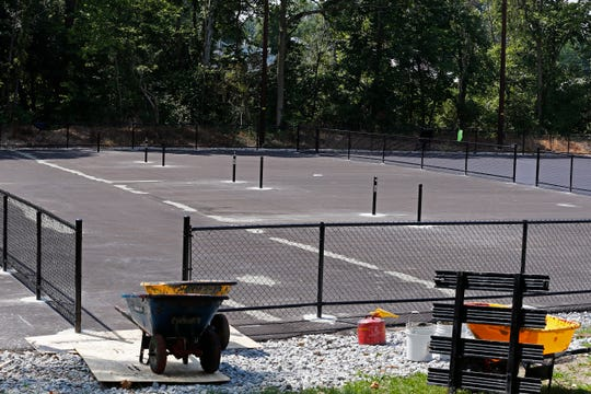 A ribbon-cutting ceremony has been scheduled for 4:30 p.m. Aug. 13 to celebrate the debut of the new pickleball courts at Clear Creek Park in Richmond.