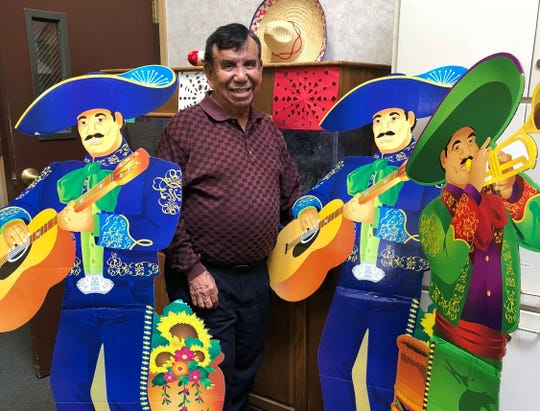 Clem Galindo volunteers with the San Angelo Senior Center's ceramics program.