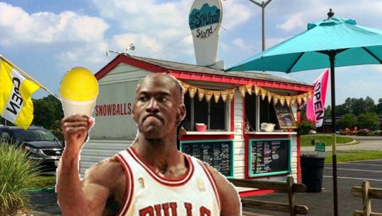 Several people are in the comedic spirit this week, altering photos of classic Ocean City and Delmarva sites to work in NBA legend Michael Jordan, who has a boat entered in the 2019 White Marlin Open fishing competition.