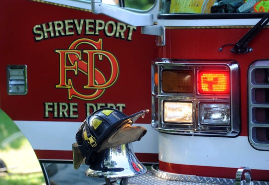 A Shreveport Fire Department truck is pictured.