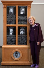 Billie Davis was honored as a Pillar of the Faith by the Assemblies of God Theological Seminary at Evangel.