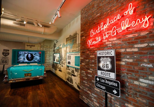 The Birthplace of Route 66 Gallery at the History Museum on the Square offers many colorful exhibits. The museum is located at 154 Park Central Square and will have its grand opening on Thursday, Aug. 8, 2019.