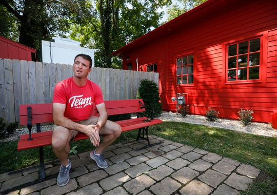 Brent Sonnemaker, one of the co-owners of Team Taco, talks about his new restaurant on Tuesday, Aug. 6, 2019, in Springfield, Mo. Team Taco is located at 1454 E Cherry St.