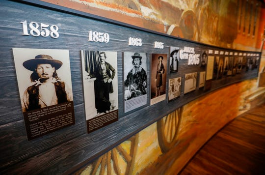 An exhibit on Wild Bill Hickok and the American West can be seen at the History Museum on the Square. The museum is located at 154 Park Central Square and will have its grand opening on Thursday, Aug. 8, 2019.