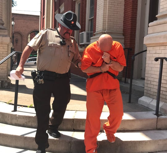 Joey D. Lambert Sr. was sentenced to 15 years in prison Tuesday for molesting a young girl in 2018.