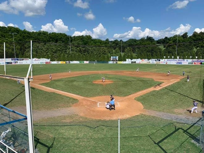 Moxie Stadium, home of the Staunton Braves.