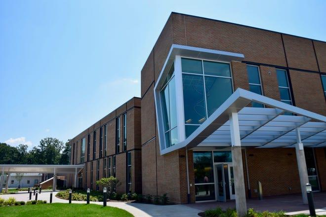 Blue Ridge Community College unveiled its new biosciences building on Aug. 6, 2019.