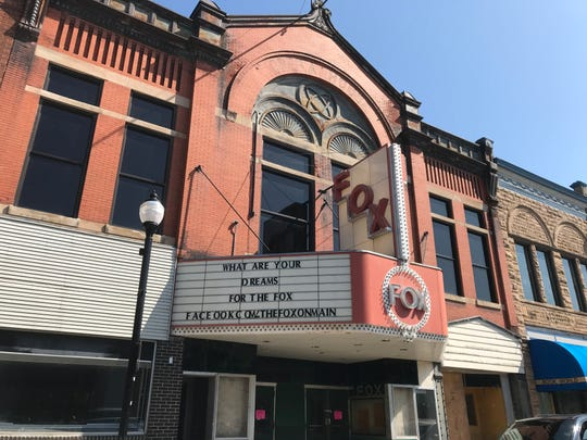 Fox Theater on Main Street in Stevens Point. Photo taken Aug. 6, 2019.