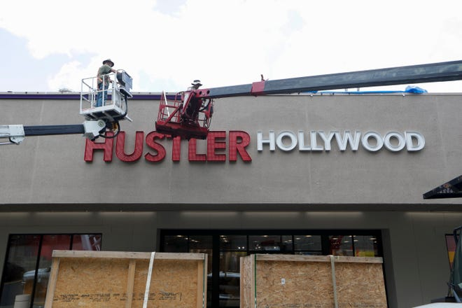 Hustler Hollywood, an adult entertainment franchise, opened a store on North Monroe Street in 2019.
