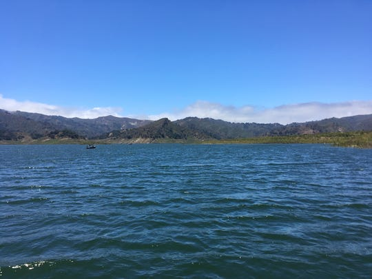 Lake Casitas, a main water source for the city of Ventura.