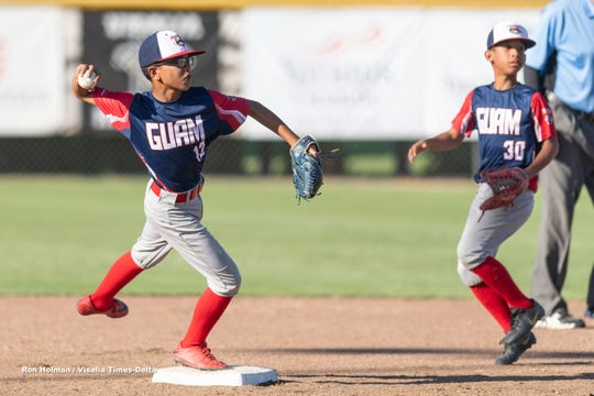 The Guam U12 All-Stars fell to the home team, Visalia Grey, 6-2, at the 2019 Cal Ripken Major 60 World Series.  The team