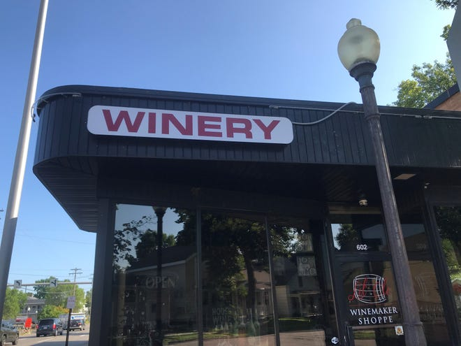 The Lil' Ole Winemaker Shoppe at 602 Jefferson St. in downtown Wausau was listed for sale Friday. Owners Sue and Brian Larson plan to retire and won't close the doors until they sell.