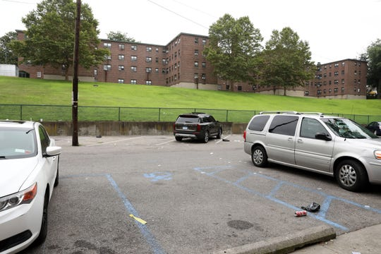 Weber Drive, a section of a Port Chester Housing Authority complex Aug. 6, 2019, where two people were shot in the early morning. Charles Anthony Elliott Jr., a 26-year-old Port Chester resident, died. The second person was injured.