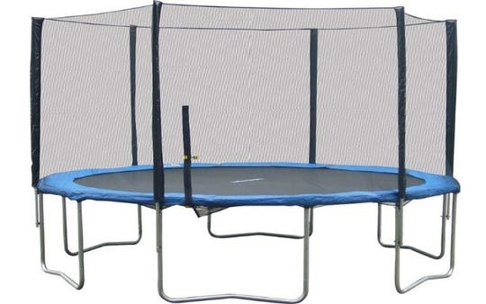 About 23,000 Super Jumper trampolines have been recalled including the brand's 14-foot trampoline.