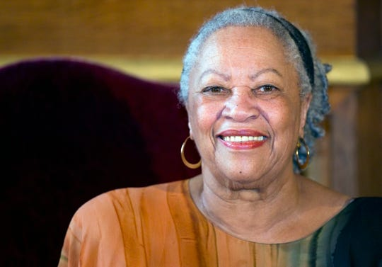 Toni Morrison was awarded the Grand Vermeil medal for her cultural impact in Paris, France in November 2010.