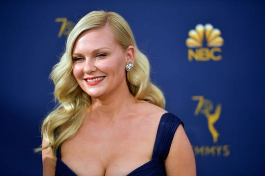 Kirsten Dunst at the 70th Emmy Awards at Microsoft Theater in September  2018.