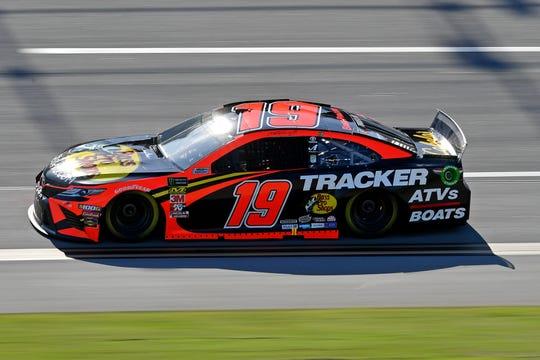Martin Truex Jr. drives the No. 19 Toyota.
