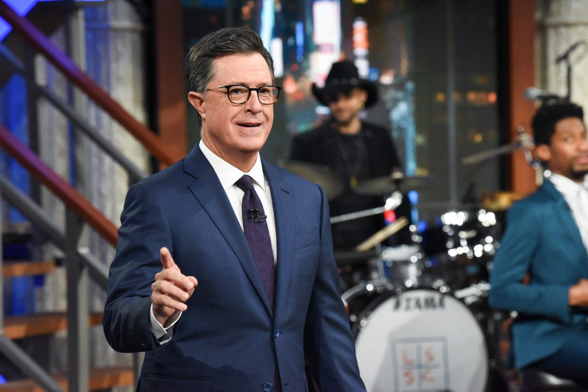 Colbert: 'If you love something, it probably wasn't John Hickenlooper'