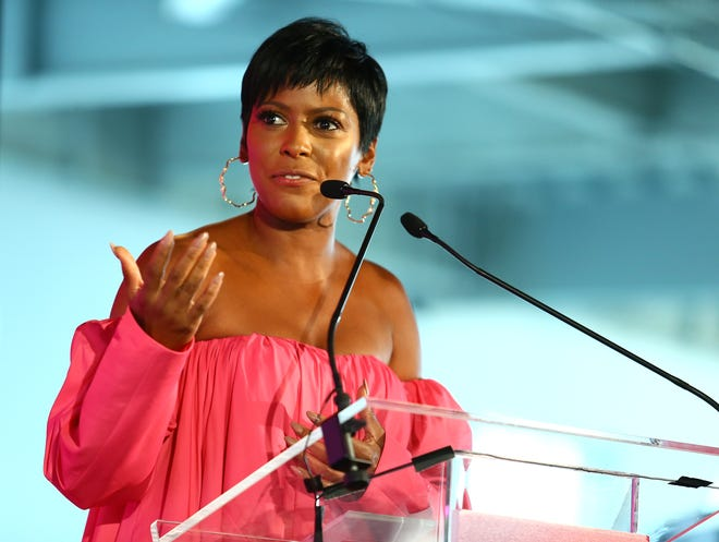 """Tamron Hall will host her own nationally syndicated daytime talkshow, """"Tamron Hall,"""" starting in September."""